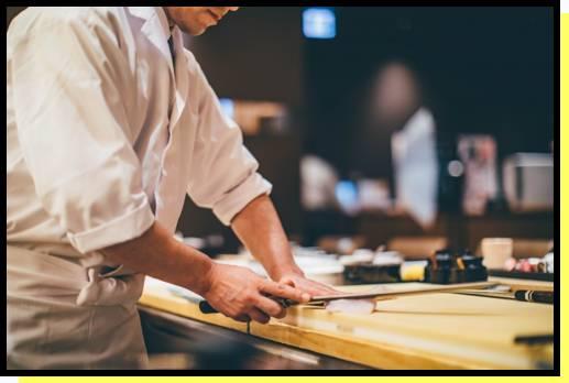 手に職つける料理職人